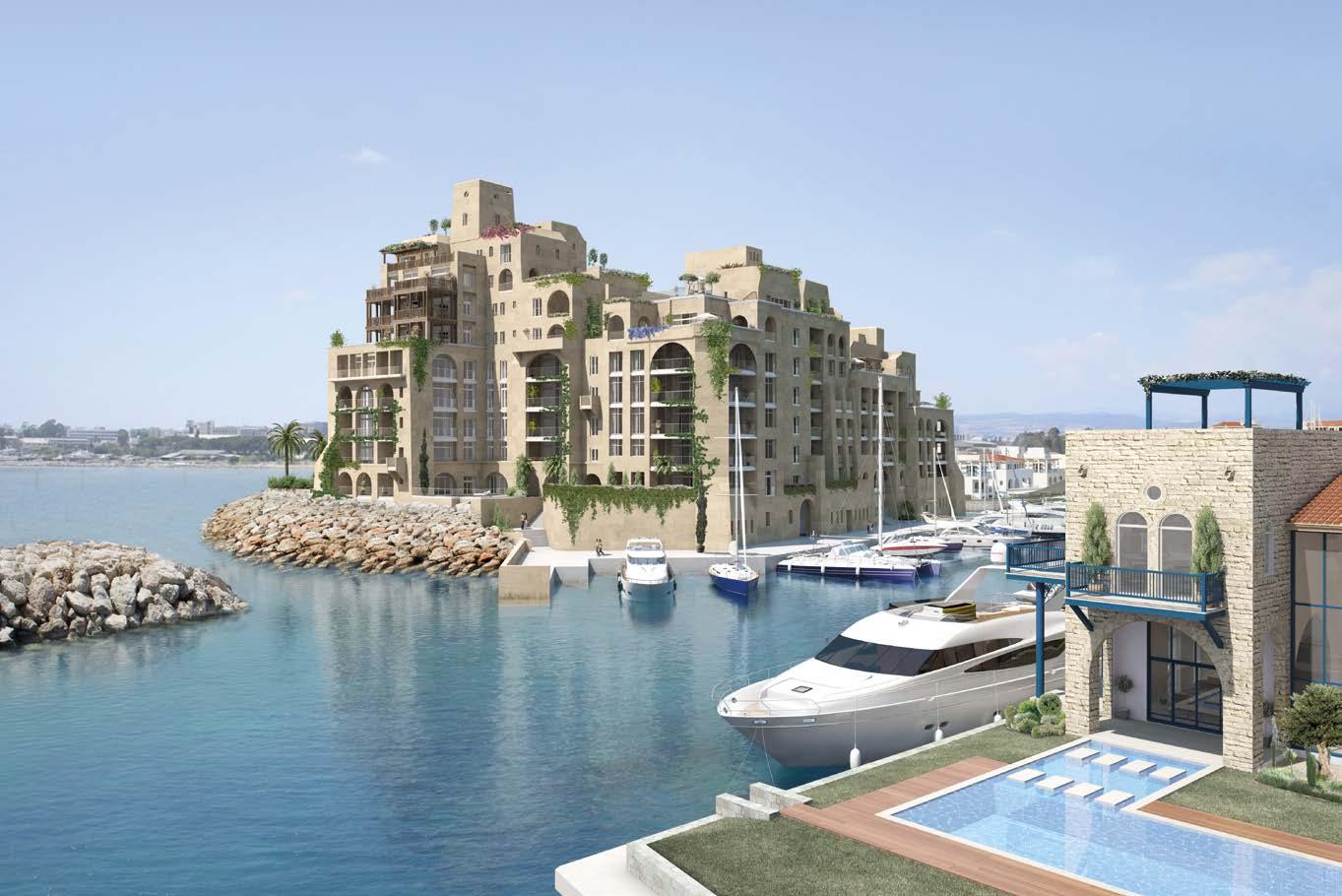 Limassol Marina Castle Residences