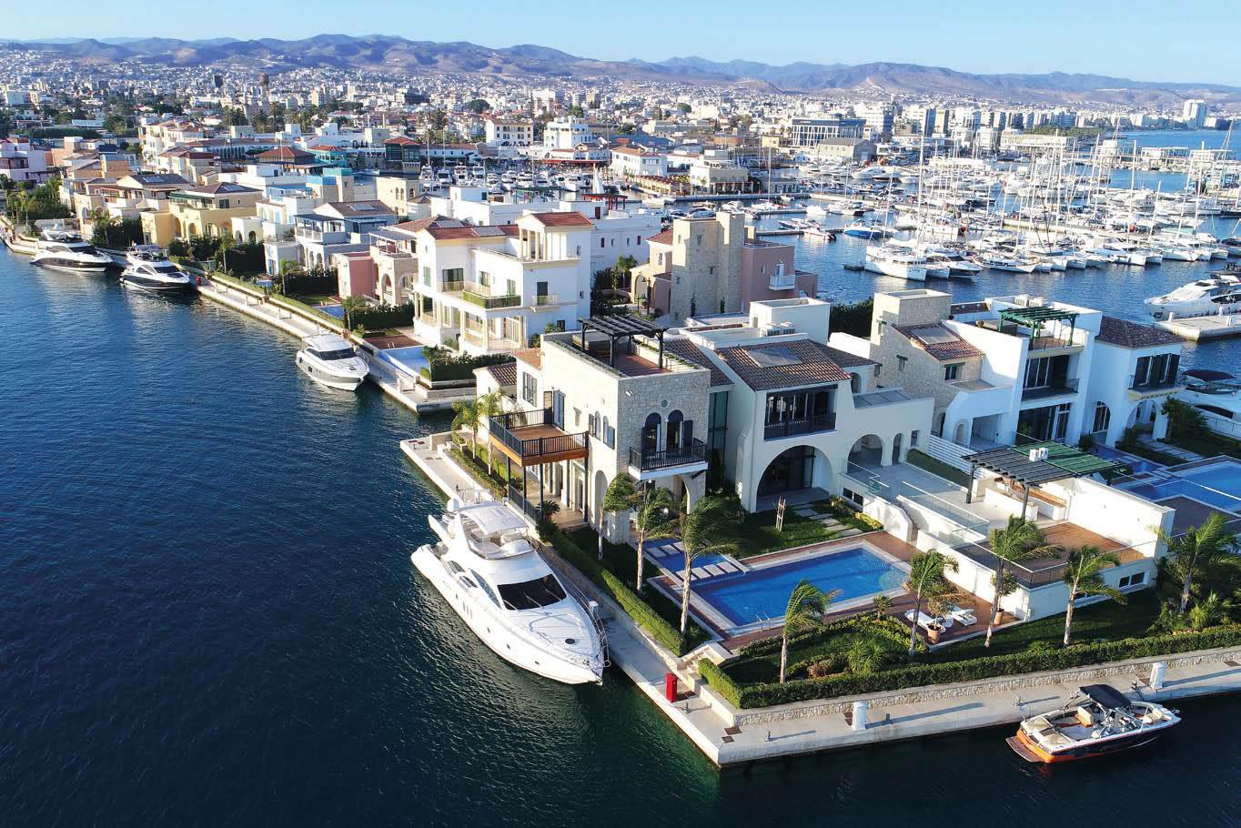 Limassol Marina Island Villas